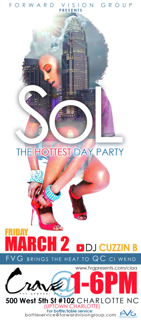 SoL Day Party @Crave Dessert Bar [Friday 3-02-12]