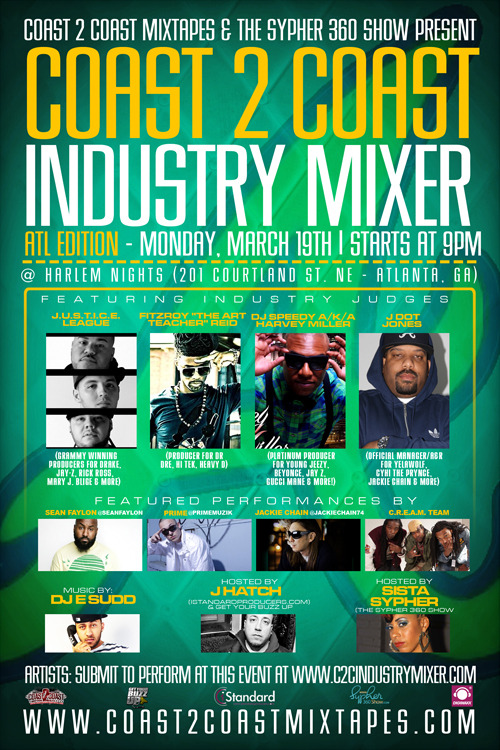 Coast 2 Coast Industry Mixer ATL Edition